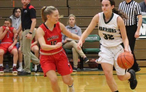 Warrior Girls Basketball, running toward success