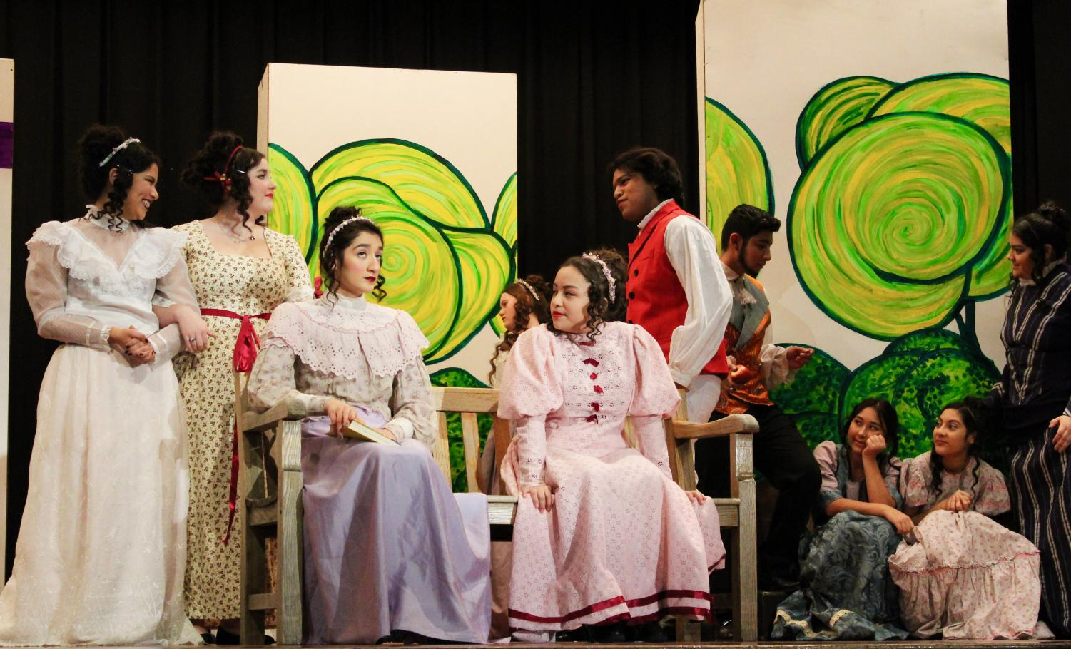 A scene from the SCHS One Act play