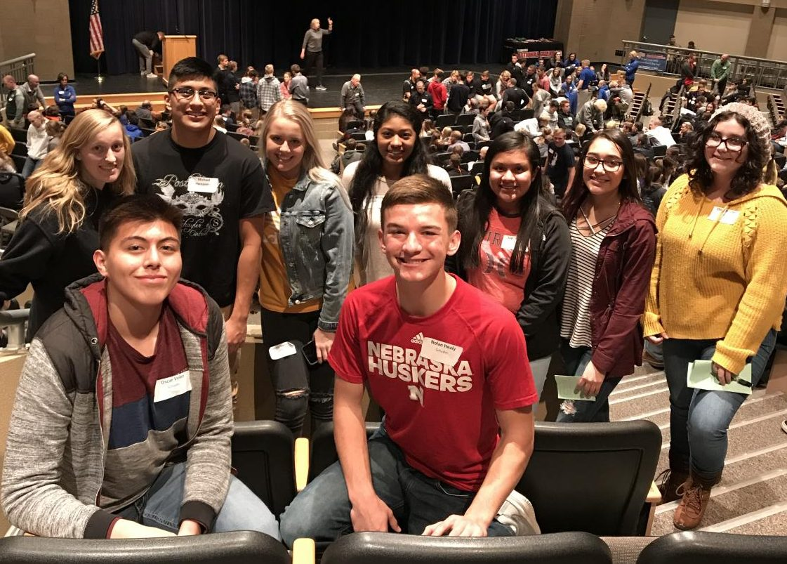 Student leaders attend Ne. Coaches Association Summit.