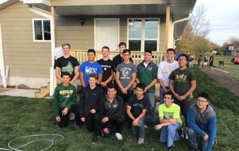 Winter Athletes learn about Helping Others