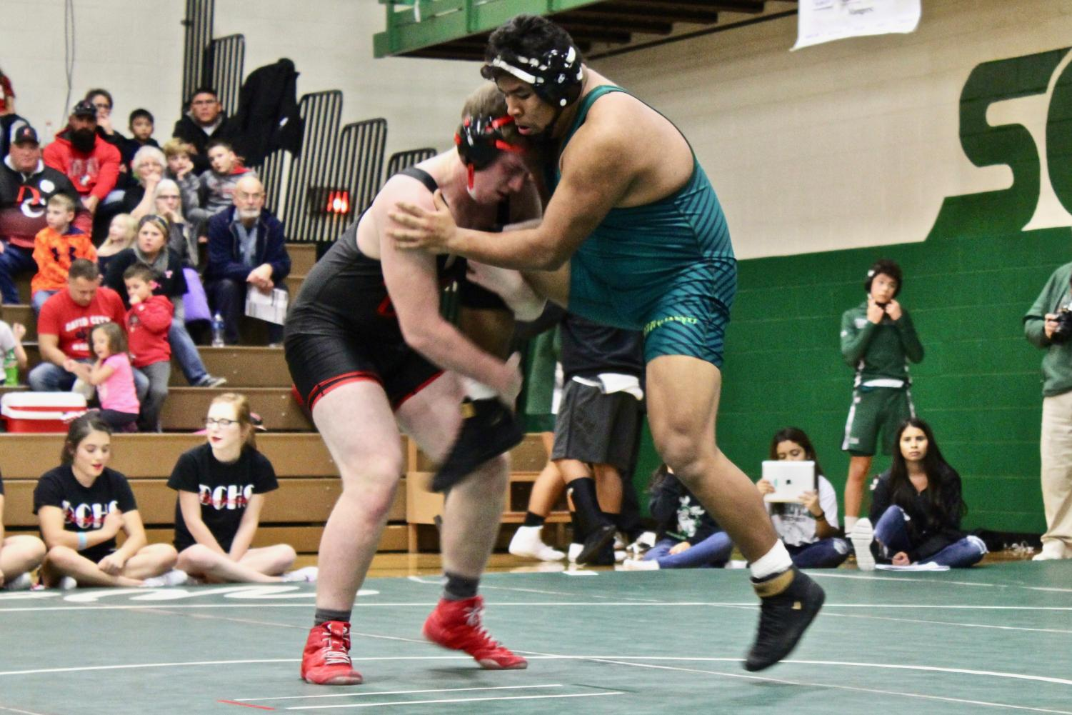 Maganda was undefeated in his 38 matches this past season.