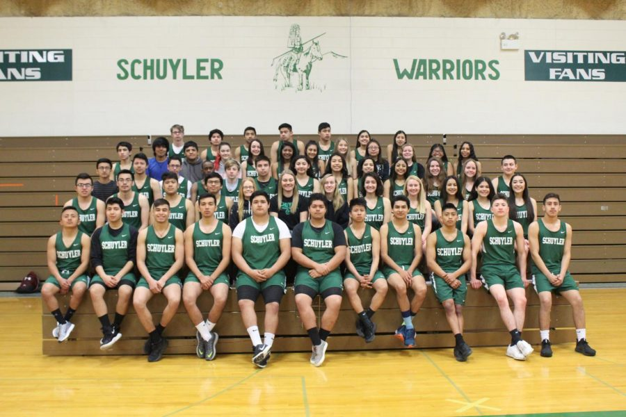 SCHS+track+and+field+athletes+excited+for+the+season.