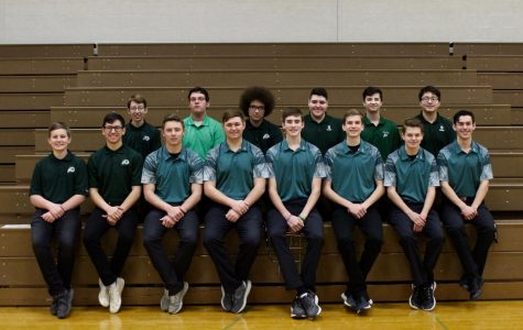 Boys Golf team poses with pride.