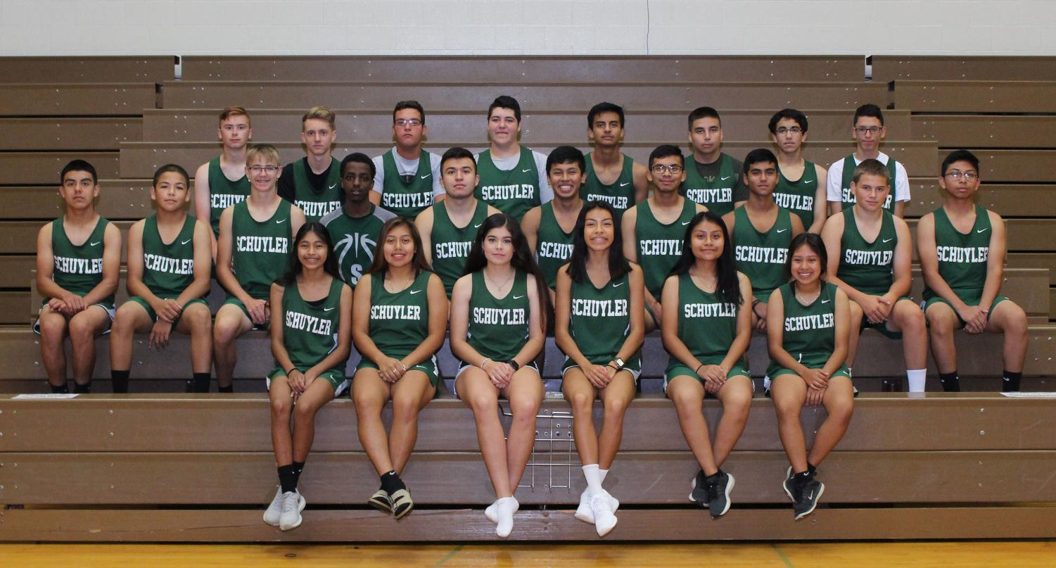 The Warrior Cross Country team are prepared for the approaching season.