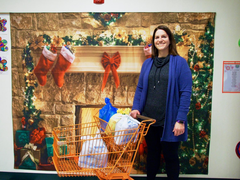 Meridith Riha, coordinator of the Yummy Backpack Food program.