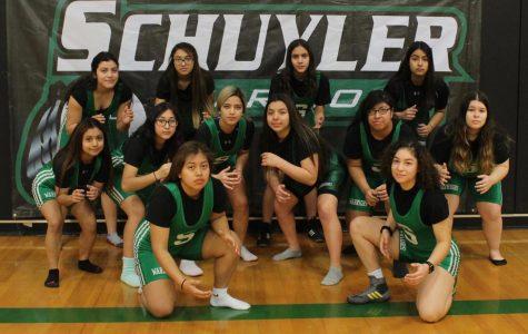 SCHS female wrestlers ready to start the season.