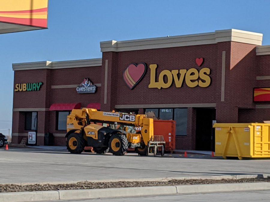 Newest Business in Schuyler, Love's Truck Stop.