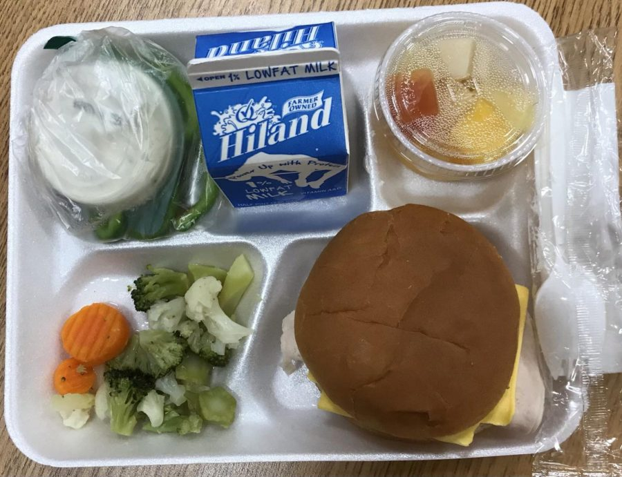 The free food that is served to SCS students.