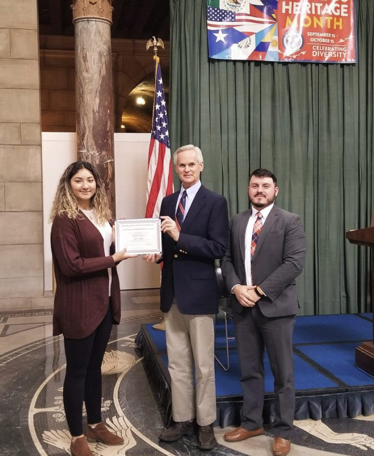 Student wins Statewide Essay Contest