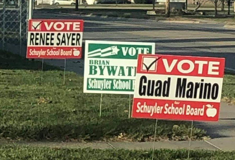 Three+open+spots+were+filled+in+election+on+Schuyler+School+Board.