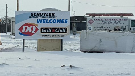 The site for the upcoming Dairy Queen.