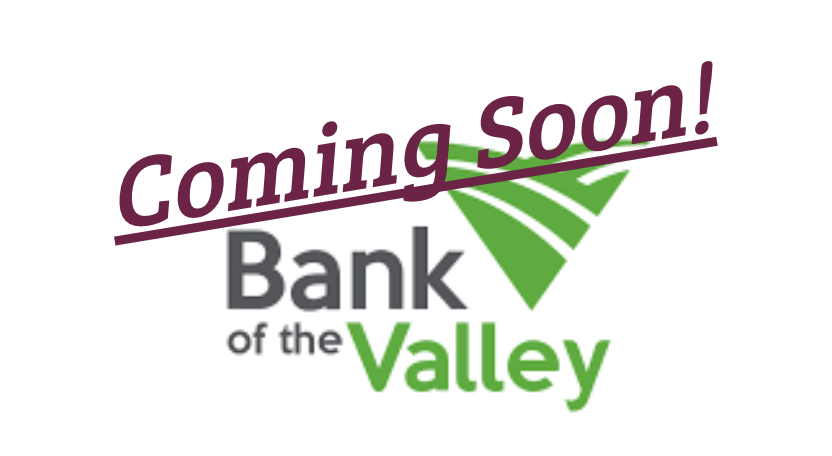 New to Schuyler, Bank of the Valley, is starting construction of their new bank.