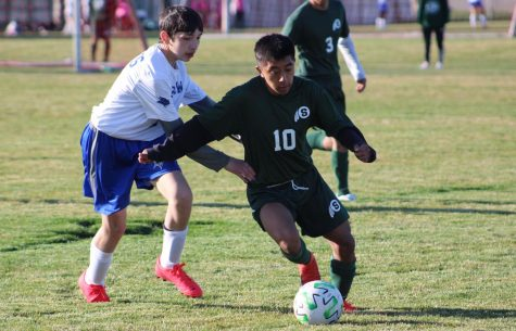 Hugo Ramon playing for the Schuyler Warriors against Lakeview